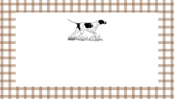 Bird Dog Place Cards — Free Thanksgiving Download!